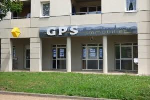 Facade Bureau Agence GPS Immobilier à Riom
